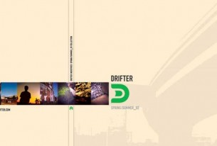 Drifter: Urban clothing line for young men.