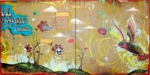 """48 x 96"""" acrylic on canvas"""