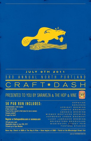 Craft Dash 2011 Poster