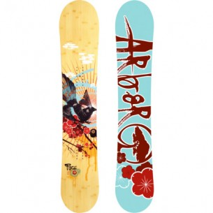 The Arbor Collective uses environmentally friendly natural materials to produce snowboards, skateboards, and bamboo apparel.
