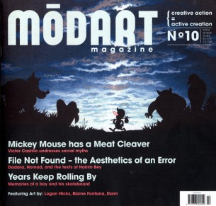 Modart magazine. We are a contemporary urban art magazine bringing...