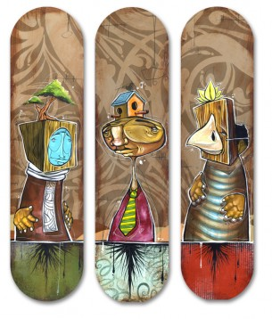 Escapist Artist Skateboards