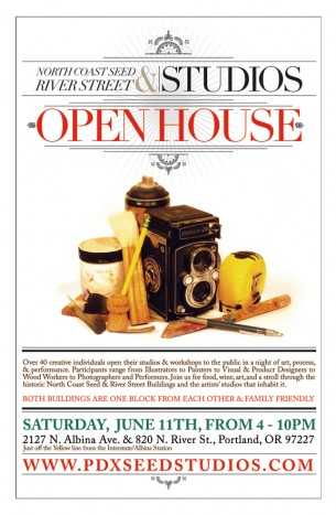 Over 40 creative individuals open their studios & workshops to the public in a night of art, process, & performance. Participants range from Illustrators to Painters to Visual & Product Designers to Wood Workers to Photographers. Architects, and Performers. Join us for food, wine, art and...
