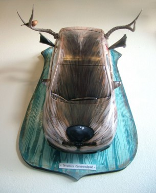 I had the pleasure of creating art for the Nationally acclaimed Scion Art Tour.  Each year a select group of artists in the Urban Contemporary genre where given a theme.  This particular year we all received Scion's brand...