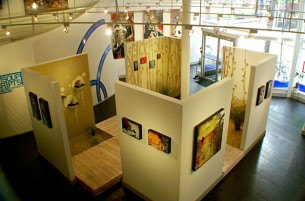 One of my most ambitious instillations in 2006.  With Lineage Gallery residing in Philadelphia, PA, the logistics of creating and...