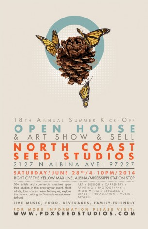 This will be our studio's quinquennial participation in the annual hoorah at the Seed Building that always sets Summer off. We will be exhibiting new works, prints and...