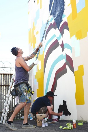 Our 3rd year with the Forest for the Trees mural festival. This year was a seamless collaboration with Fontana Studios resident artist and...